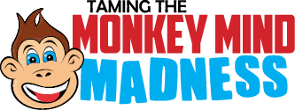 Taming The Monkey Mind Madness Logo